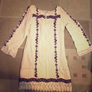 Alice + Olivia embroidered dress